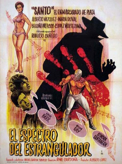Santo Vs. The Spectre of The Strangler (El Espectro Del Estrangulador) 1963