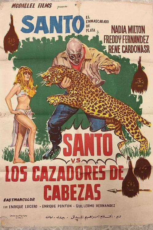 Santo Vs. The Headhunters (Cazadores de Cabezas) 1971