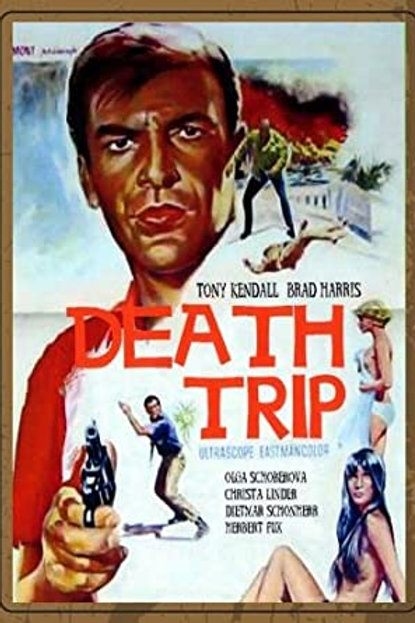 "Kommissar ""X"" Death Trip 1967 Eurospy"