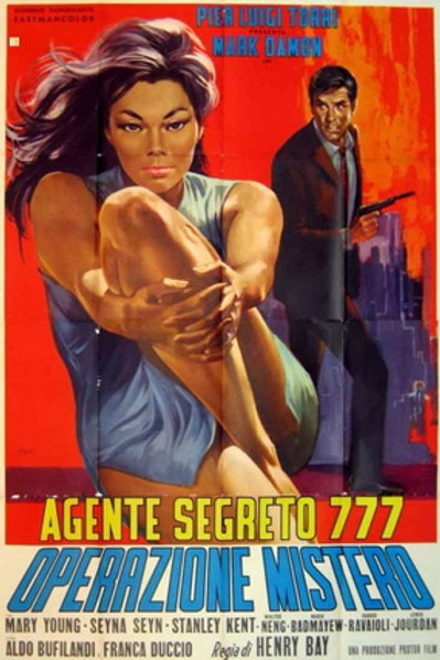SECRET AGENT 777: OPERATION MYSTERY (1966) EUROSPY