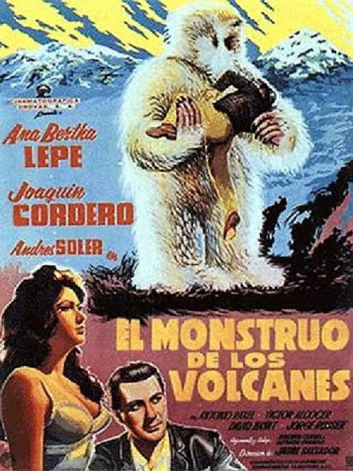 The Terrible Giant of the Snow (El Monstruo De Los Volcanes) 1963 Mexican Horror