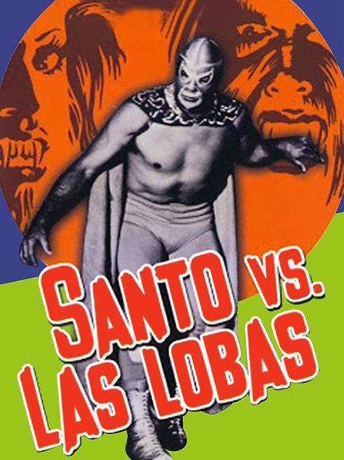 """""""Santo Vs. The She Wolves (1972) Lucha Horror"""