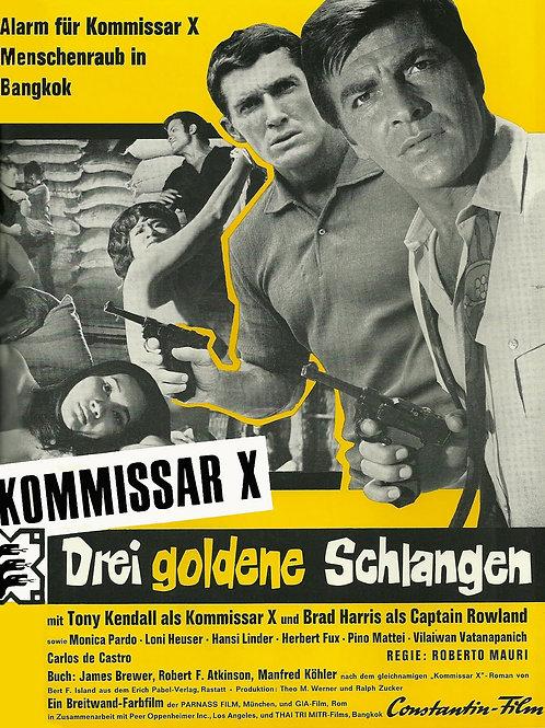 "Kommissar ""X"" Island of The Lost Girls 1969 Eurospy"