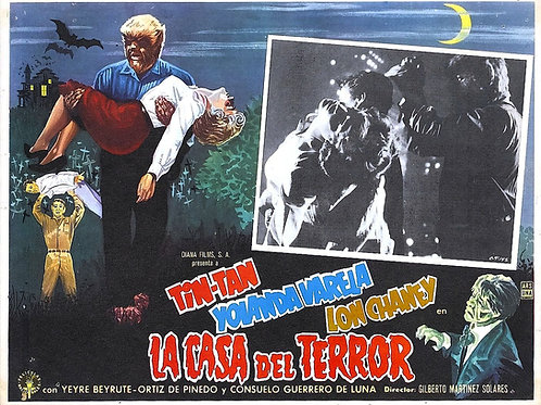 La Casa Del Terror (Face of The Screaming Werewolf) 1959
