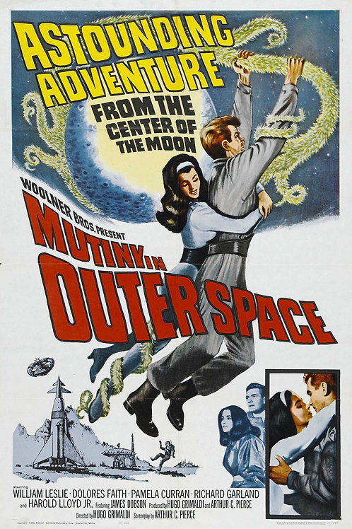 Mutiny In Outer Space (1965) William Leslie