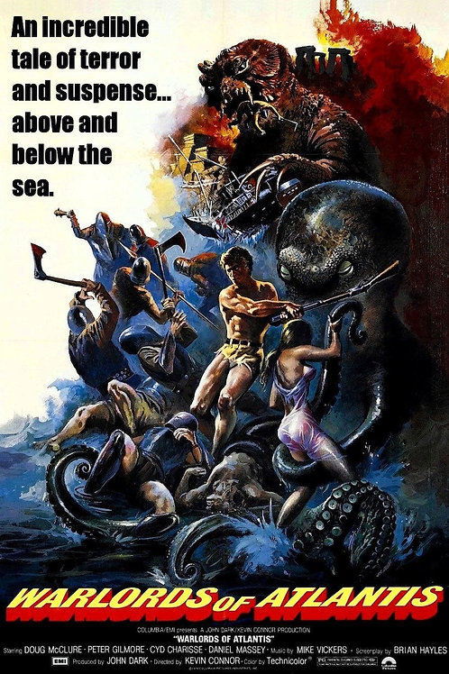 """Warlords of Atlantis"" (1978) Classic Sci-Fi"