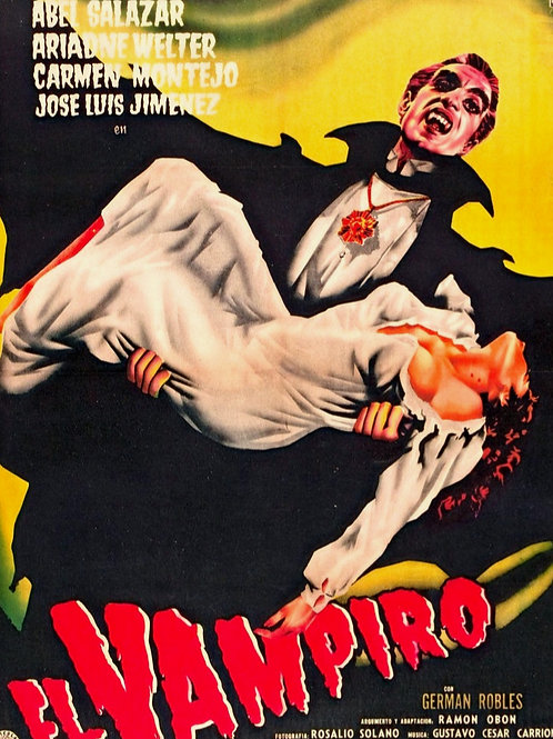 El Vampiro 1957 German Robles