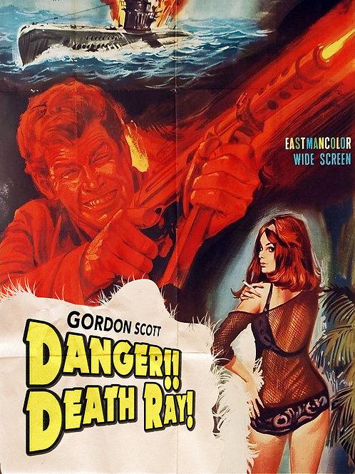 Danger!! Death Ray Gordon Scott (1967) Eurospy