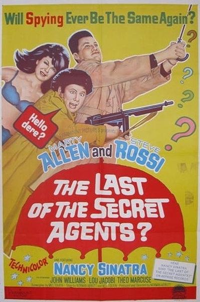The Last of The Secret Agents (1966) Allen & Rossi Spy Spoof