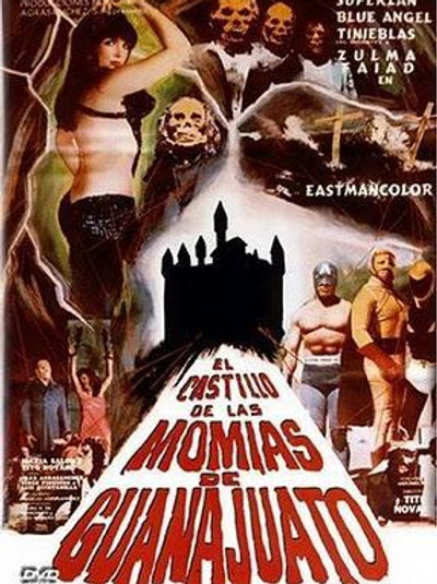 Castle of The Guanajuato Mummies (1973) Lucha Horror