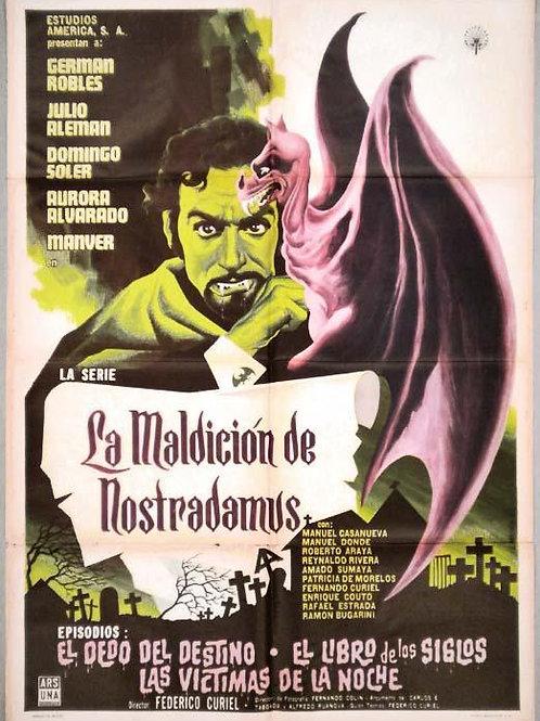 """The Curse of Nostradamus"" (1962) German Robles"