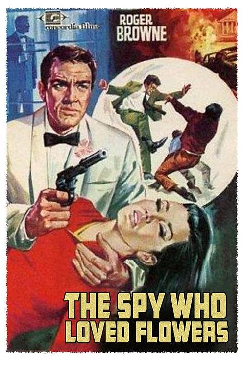 THE SPY WHO LOVED FLOWERS (1966) EUROSPY