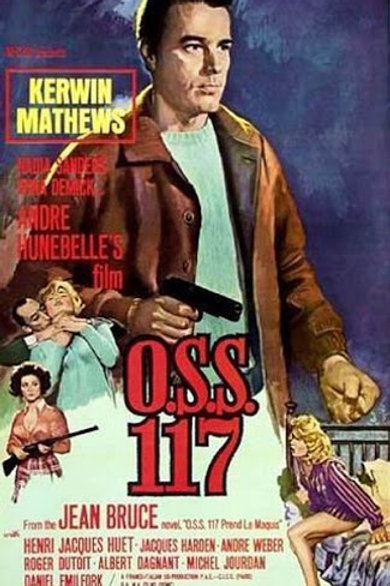 O.S.S. 117 Is Unleashed (1963) Kerwin Matthews EUROSPY