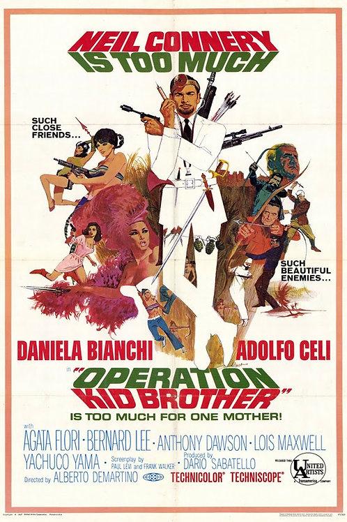 Operation Double 007 AKA ( OK Connery ) 1967