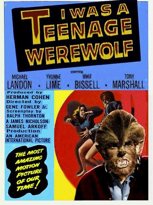 """I Was A Teenage Werewolf"" (1957) Michael Landon"