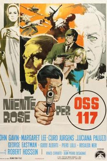 OSS 117: DOUBLE AGENT (1968) EUROSPY