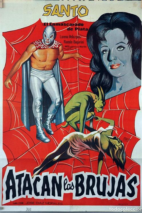 Santo En Atacan Las Brujas (The Witches Attack) 1964