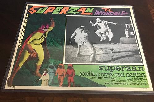 Superzan El Invencible ( Superzan The Incredible) 1971 Lobby Card