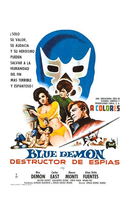 Blue Demon: Destructor of Spies (1968) Lucha/Spies