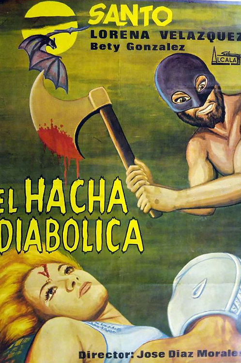 Santo And The Diabolical Hatchet (El Hacha Diabolica) 1964