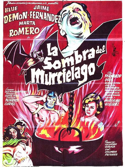 Shadow of The Bat (1968) Blue Demon