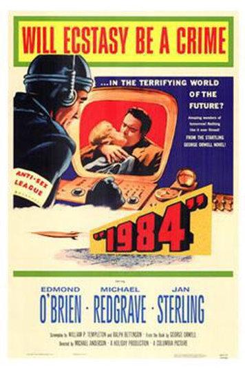 """1984"" (1956) George Orwell Sci Fi Classic"