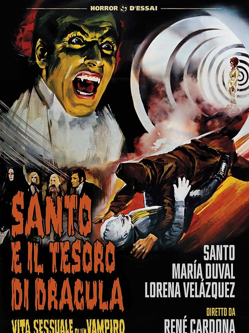 Santo In The Treasure of Dracula (1969) Horror Sci-Fi