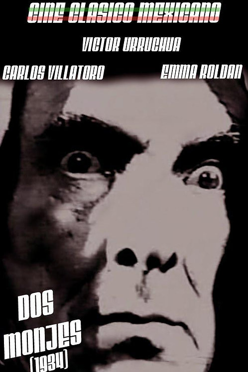 Dos Monjes (Two Monks) 1934 Gothic Mexi-Horror