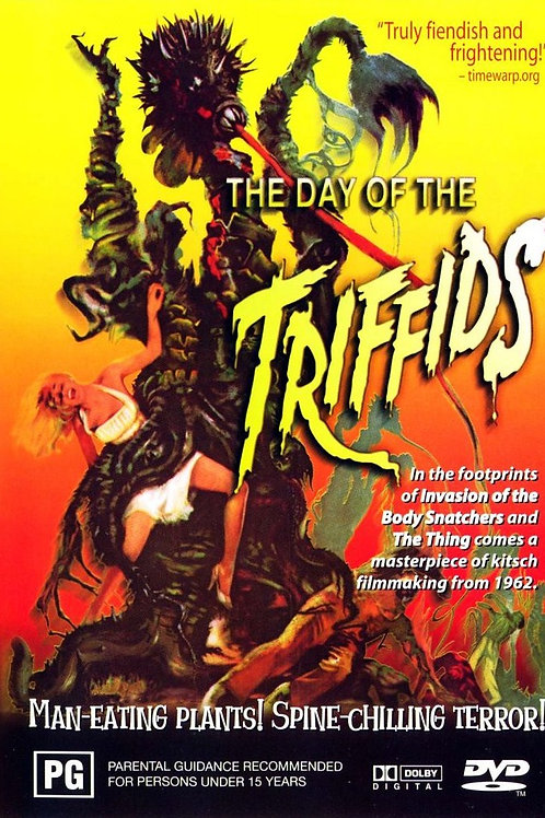 The Day of The Triffids (1962) Howard Keel Sci-Fi