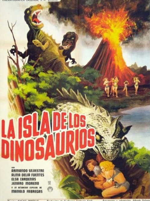 The Island of The Dinosaurs (1967) Mexican Sci Fi