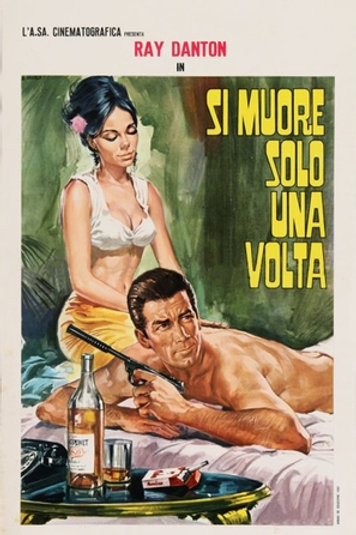 YOU ONLY DIE ONCE (SI MUORE SOLO UNA VOLTA) 1967 RAY DANTON EUROSPY