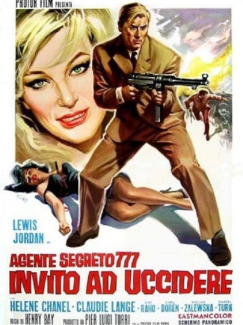 SECRET AGENT 777: A TICKET TO DIE (1966) EUROSPY