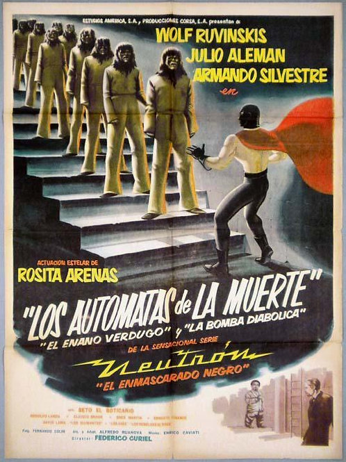 Neutron Vs The Death Robots (1960) Sci Fi Horror