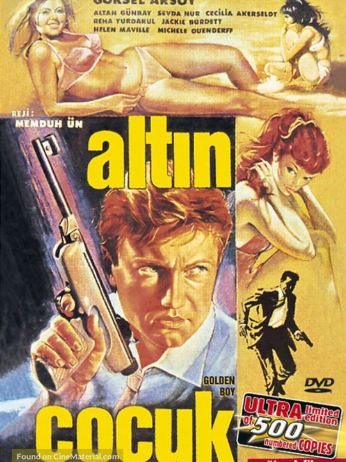 """Altin Cocuk"" (Golden Boy) 1966 Turkish James Bond Eurospy"