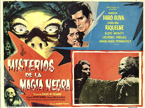Mysteries of Black Magic (Misterios De La Magia Negra) 1958