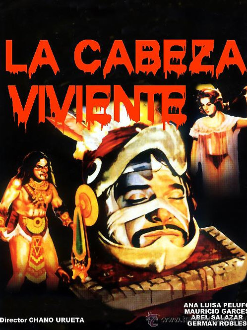 """The Living Head"" (1963) K.Gordon Murray Mexican Horror"