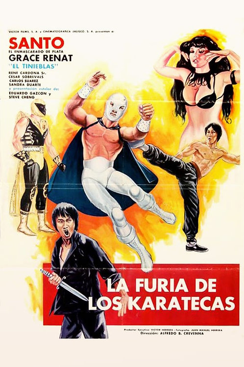 Santo & The Fury of The Karate Masters (1982)