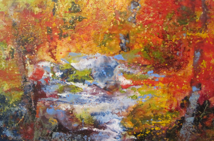 Autumn  Along the River