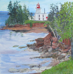 View from Fort Amherst, PEI