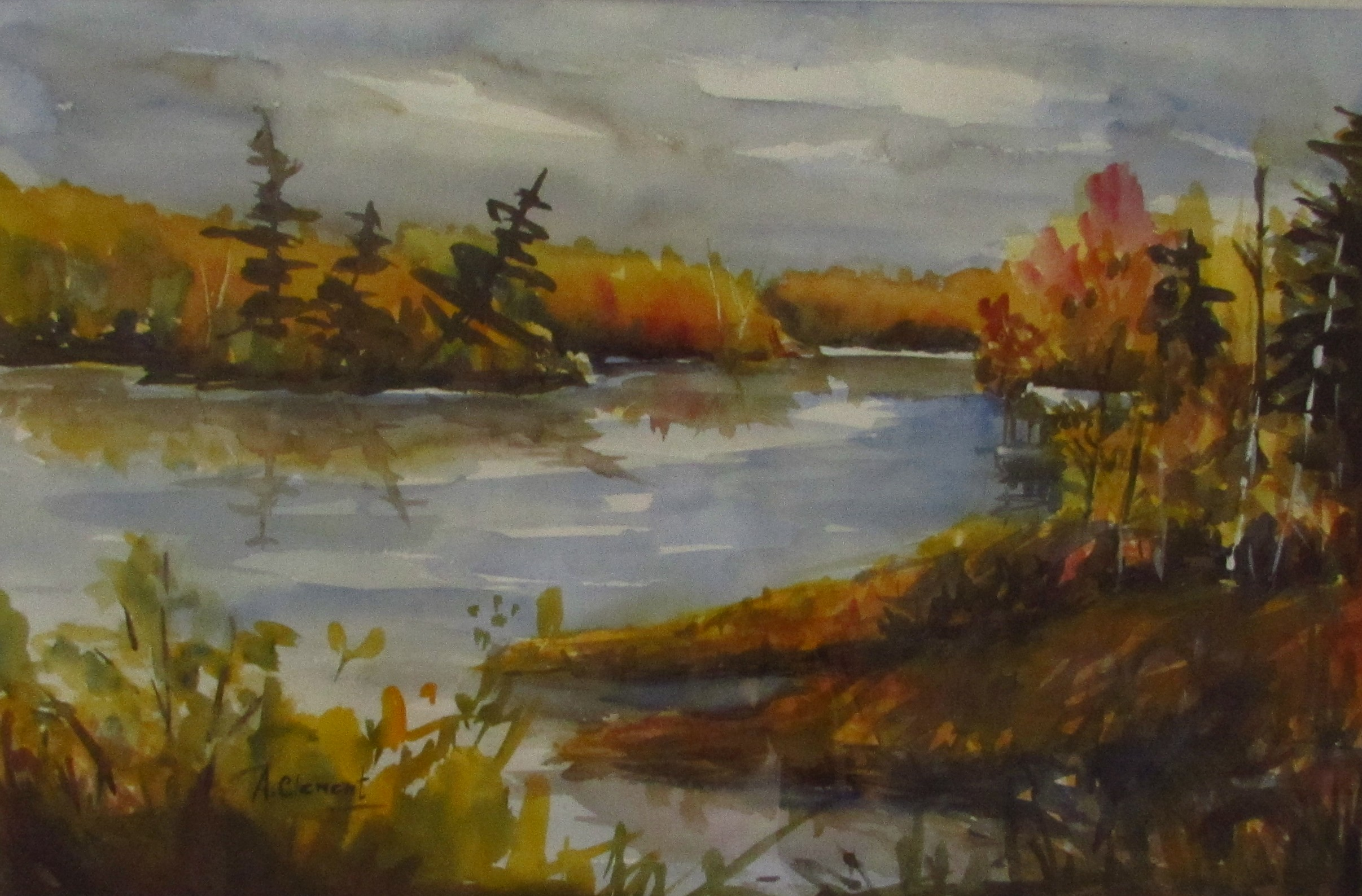 Fall Morning on the Muskoka River