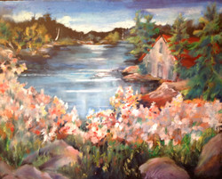 Flowers to the Lake