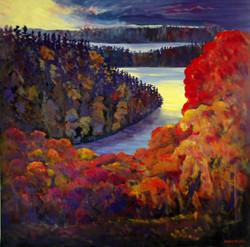 The Fall in Lake Muskoka