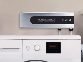 A Laundry Pro 2.0 é a solução mais inteligente para lavar a sua roupa e limpar a sua casa.