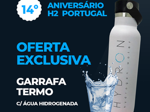 Agarre a nossa oferta de Água Hidrogenada!