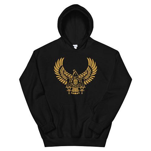 Gold Bird BLK Hoody