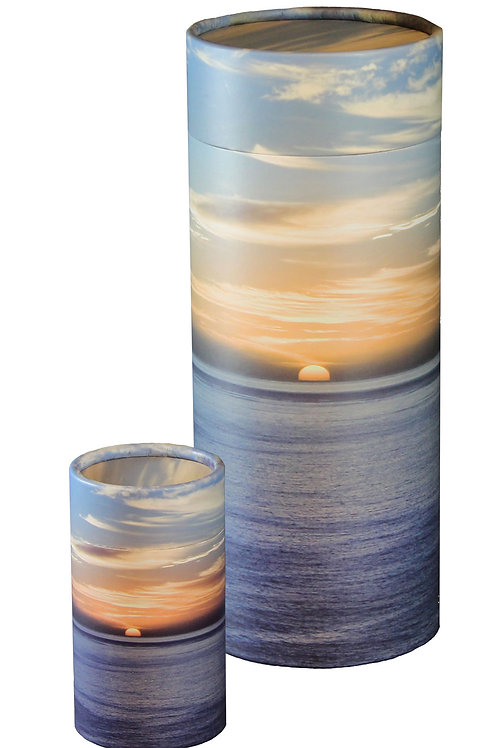 Scattering Tube - LARGE - Ocean Sunset