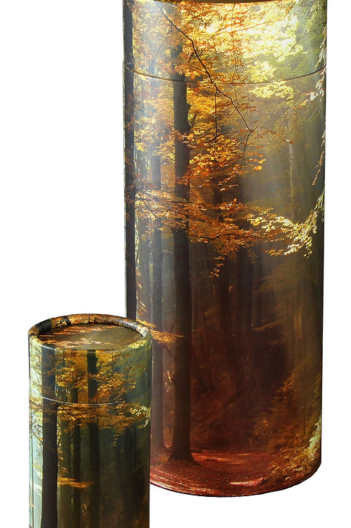 Scattering Tube - LARGE - Autumn Woods