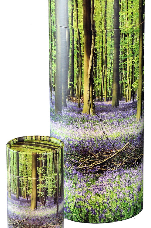 Scattering Tube - LARGE - Bluebell Forest