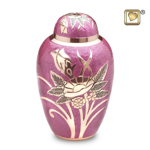 LoveUrns - Rose Lilac Urn Large