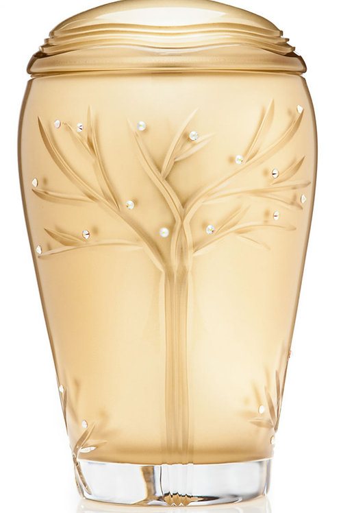 Gold Tree of Life Urn Large